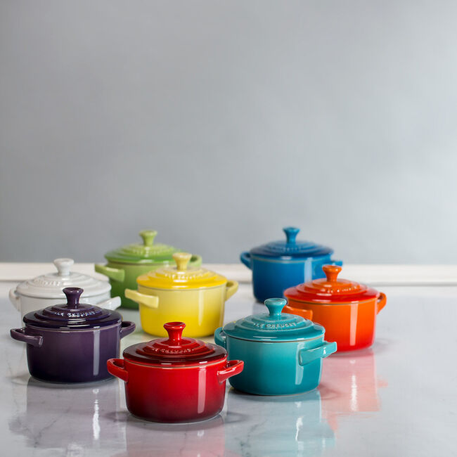 Mini Round Te Le Creuset, Small Round Roasting Pan With Lid