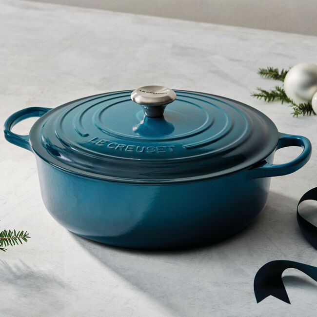 Round Wide Dutch Oven Le Creuset Official Site